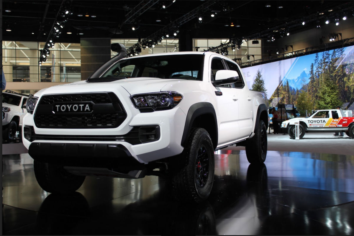 2019 Toyota TRD Pro Series Debuts at 2018 Chicago Auto Show