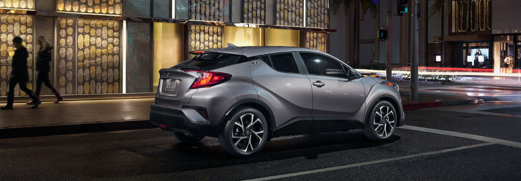 How Much Can the 2018 Toyota C-HR Fit Inside?
