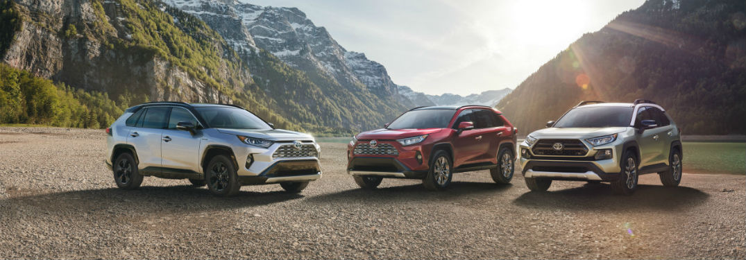Standard and Available Safety Features of the 2019 Toyota Rav4