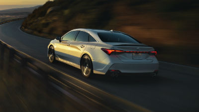 2019 Toyota Avalon exterior back fasica and drivers side