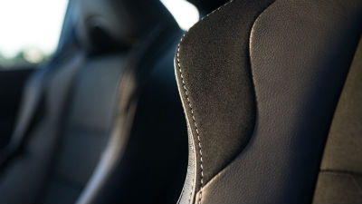 2019 Toyota 86 GT interior close up of seat