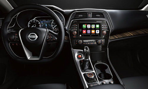 2018 Nissan Maxima Interior Dashboard And Steering