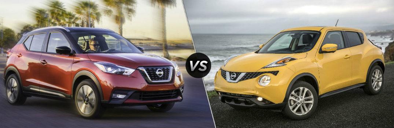 2018 Nissan Kicks vs 2017 Nissan Juke