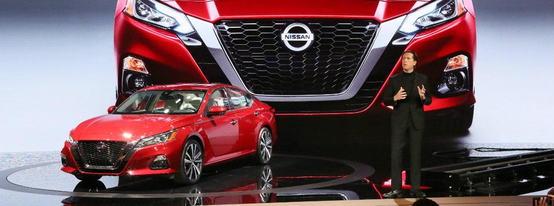 2019 Nissan Altima new york international auto show debut on stage showcase