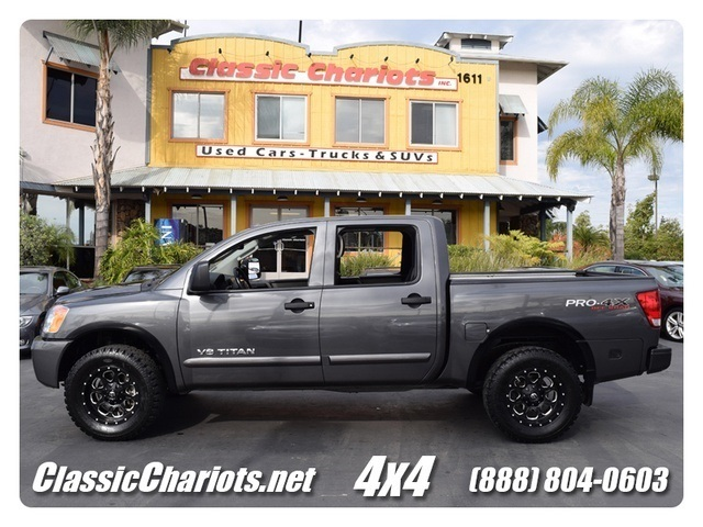 Sold 2011 Nissan Titan Pro 4x 4x4 Bluetooth Low