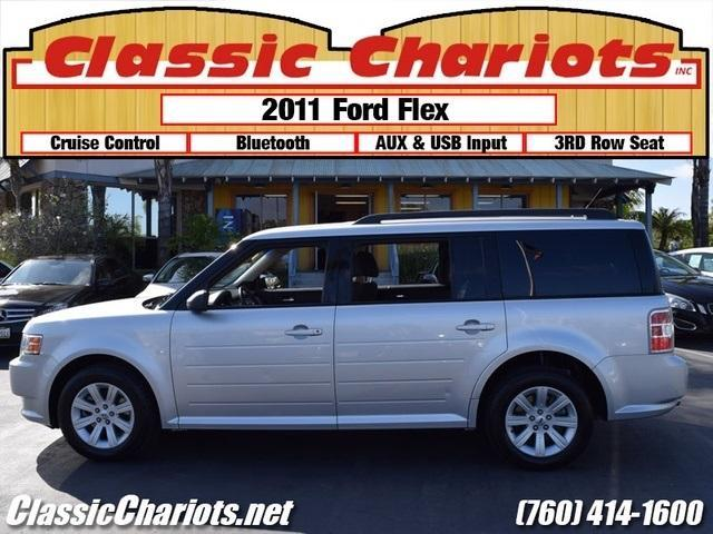 Sold Used 2011 Ford Flex Se With 3rd Row Seating Usb
