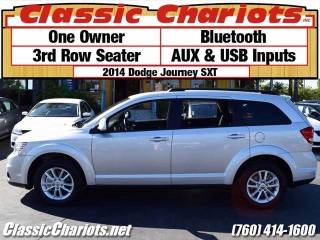sold used suv near me 2014 dodge journey sxt with 3rd row seats aux usb inputs for sale. Black Bedroom Furniture Sets. Home Design Ideas