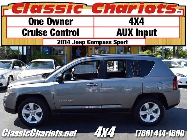 sold used suv near me 2014 jeep compass sport with one owner cruise control and aux input. Black Bedroom Furniture Sets. Home Design Ideas