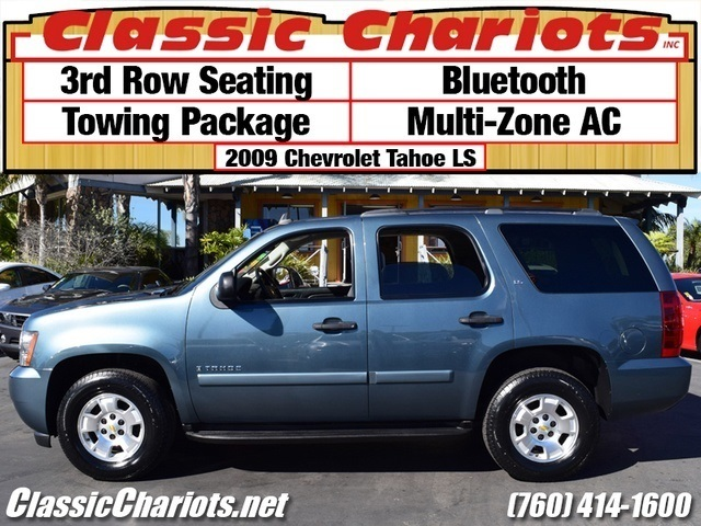 sold used suv near me 2009 chevrolet tahoe ls with multi zone ac 3rd row seating and. Black Bedroom Furniture Sets. Home Design Ideas