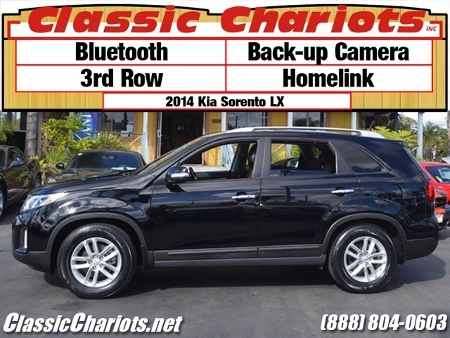 used suv near me 2014 kia sorento lx with bluetooth back up camera and 3rd row seat for sale. Black Bedroom Furniture Sets. Home Design Ideas