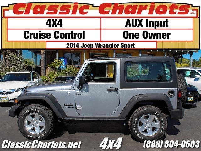 **sold**Used suv Near ME - 2014 Jeep Wrangler Sport with ...
