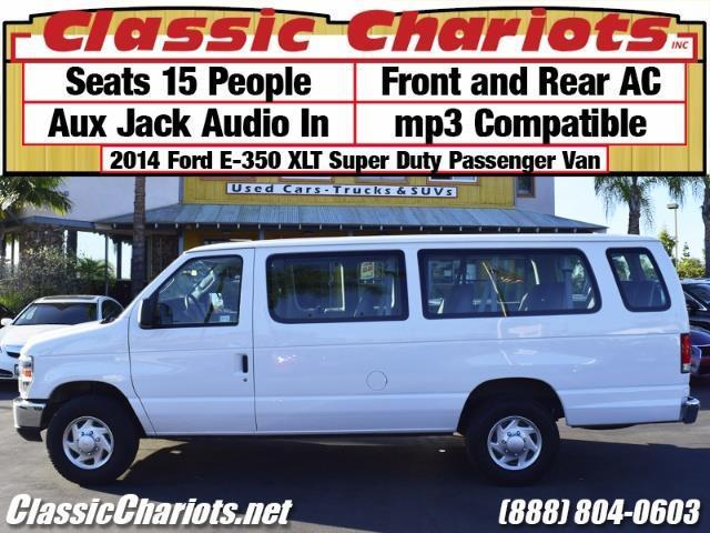Sold Used Passenger Van Near Me 2014 Ford E 350 Xlt