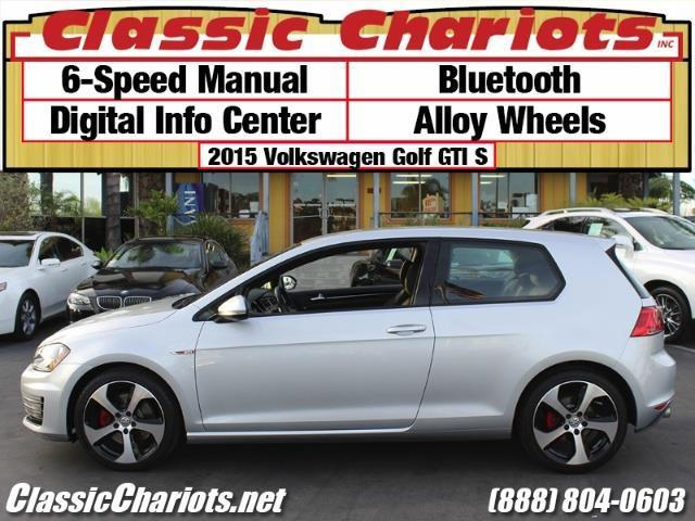 **Sold**Used Car Near Me- 2015 Volkswagen Golf GTI S With