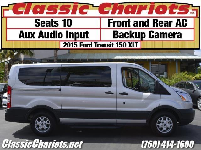Used Van Near Me 2015 Ford Transit Wagon 150 Xlt With 10 Seats Backup Camera And Ac For Sale