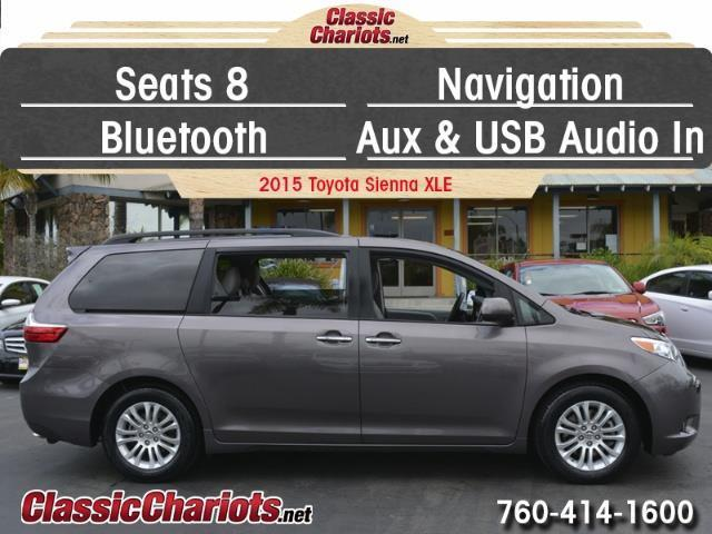 used family vehicle near me 2015 toyota sienna xle 8 passenger with 8 seats navigation. Black Bedroom Furniture Sets. Home Design Ideas