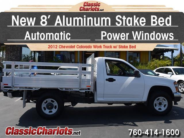 Best Uber Cars >> **SOLD**Used Truck Near Me - 2012 Chevrolet Colorado Work Truck w/ Stake Bed with New 8 ...