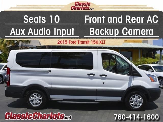 Chevrolet Cargo Van For Sale >> **Sold**Used Passenger Van Near Me - 2015 Ford Transit 150 Wagon XLT with 10 Seats, Back-up ...