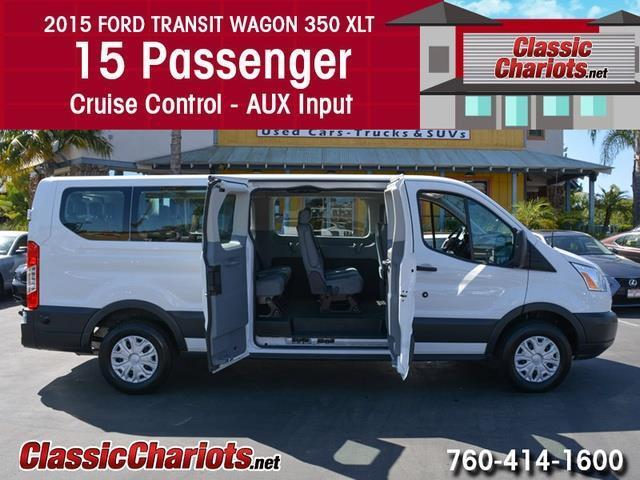 Lyft Vehicle Inspection Near Me >> Used Commercial Vehicle Near Me - 2015 Ford Transit Wagon 350 XLT 15 Pass with 15 Passenger ...
