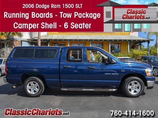 Sold Used Truck Near Me 2006 Dodge Ram 1500 Slt With Running Boards Tow Package And