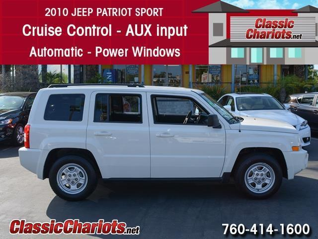 Jeep Patriot For Sale Near Me >> *sold**Used SUV Near Me - 2010 Jeep Patriot Sport with Cruise Control, AUX Input, and Power ...