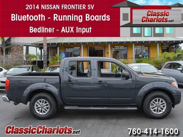 Used Truck Near Me   2014 Nissan Frontier SV With Bluetooth, Running Boards,  And Bedliner For Sale In San Diego   Stock # 13840   Classic Chariots