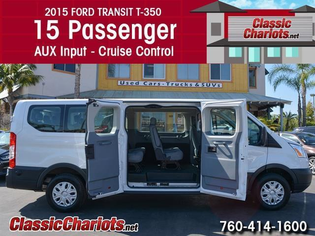 Ford Dealership San Diego >> Used Passenger Van Near Me - 2015 Ford Transit 350 XLT 15 ...