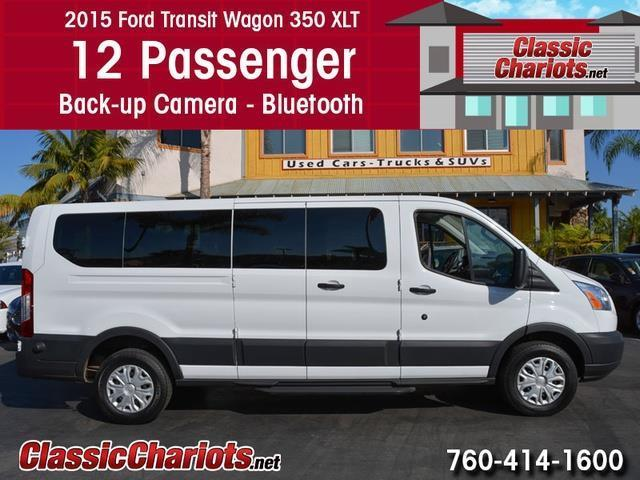 Ford Dealership San Diego >> Used Passenger Van Near Me - 2015 Ford Transit 350 XLT 12 ...