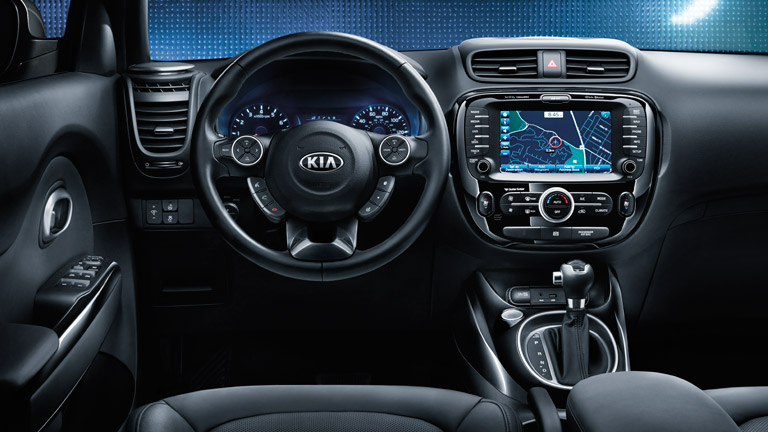 Guess Who Was Named The #1 Car For City Dwellers? » Kia Soul Interior Amazing Pictures