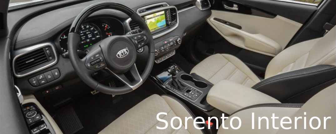 2016 Kia Sorento Interior Kids Review Entertainment System