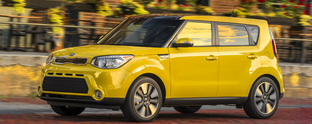 2016 Kia Soul With Lots of Cargo Space