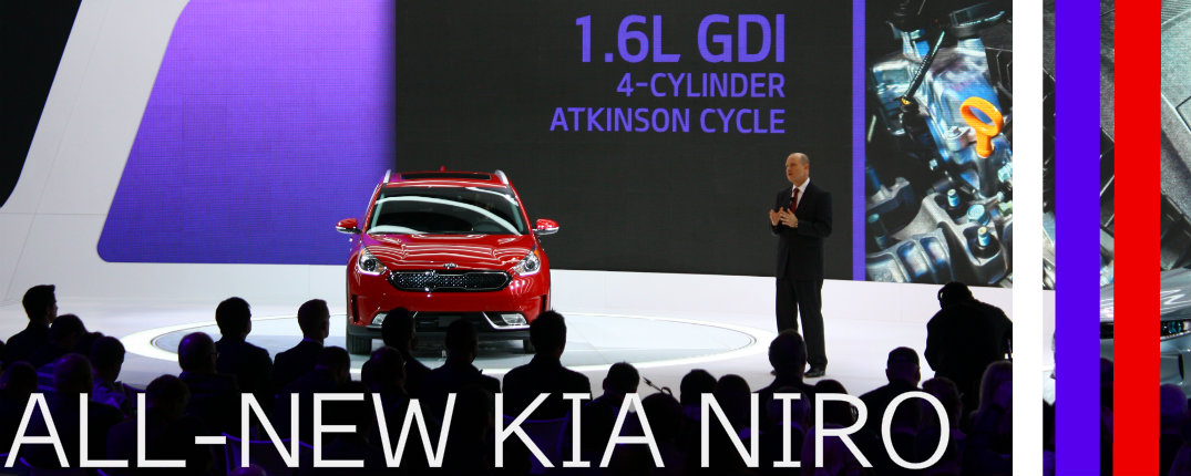 Kia Niro Images 2016 Chicago Auto Show Debut