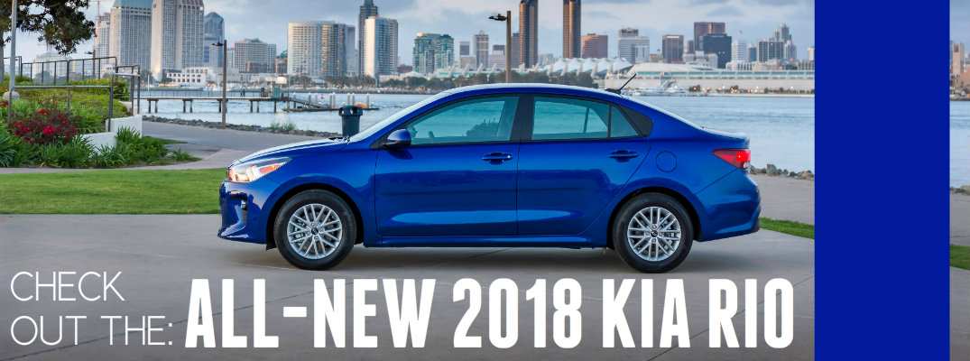 2018 Kia Rio Updated Features Sedan
