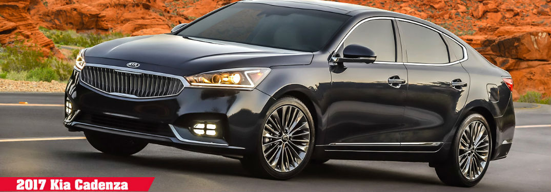 2017 Kia Cadenza Color Options