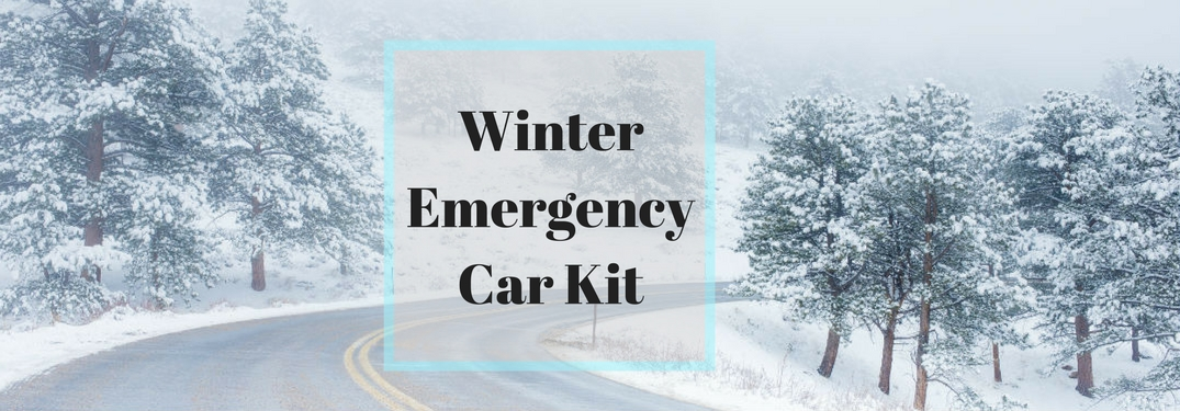 Prepare your car for winter with an Emergency Car Kit!