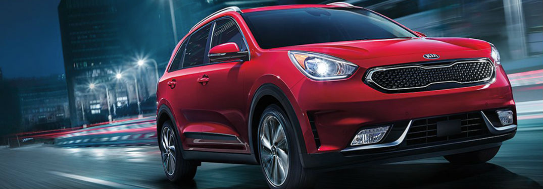 What kind of safety is in the Kia Niro?