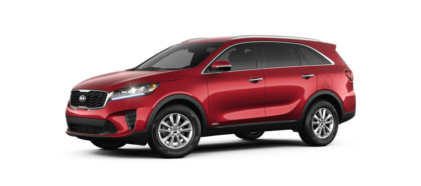 2019 Kia Sorento Passion Red