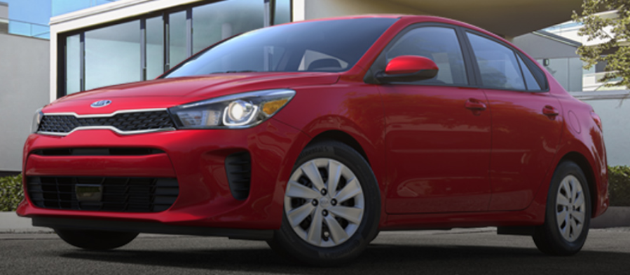 2019 Kia Rio Currant Red