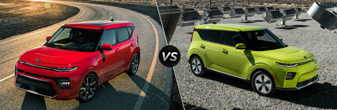 What are the Differences Between the 2020 Kia Soul and Soul EV?