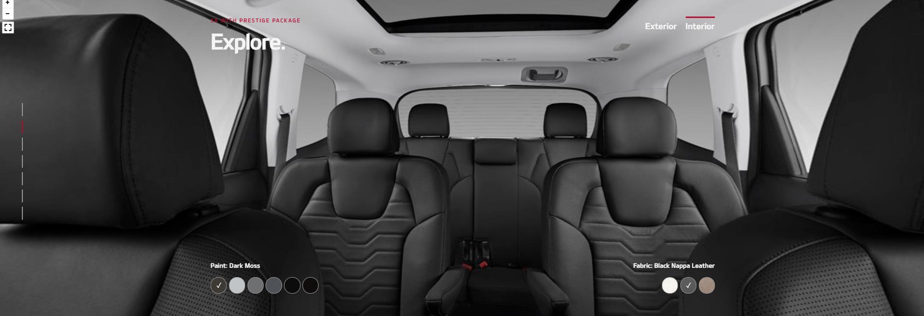 2020 Kia Telluride Black Nappa Leather