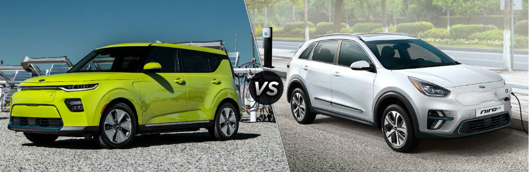What are the Differences Between the Kia Soul and Niro EVs?