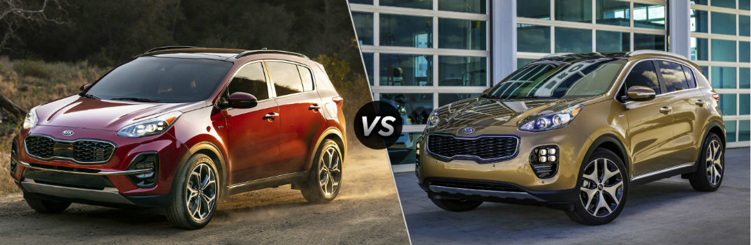 What are the Differences Between the 2020 and 2019 Kia Sportage?