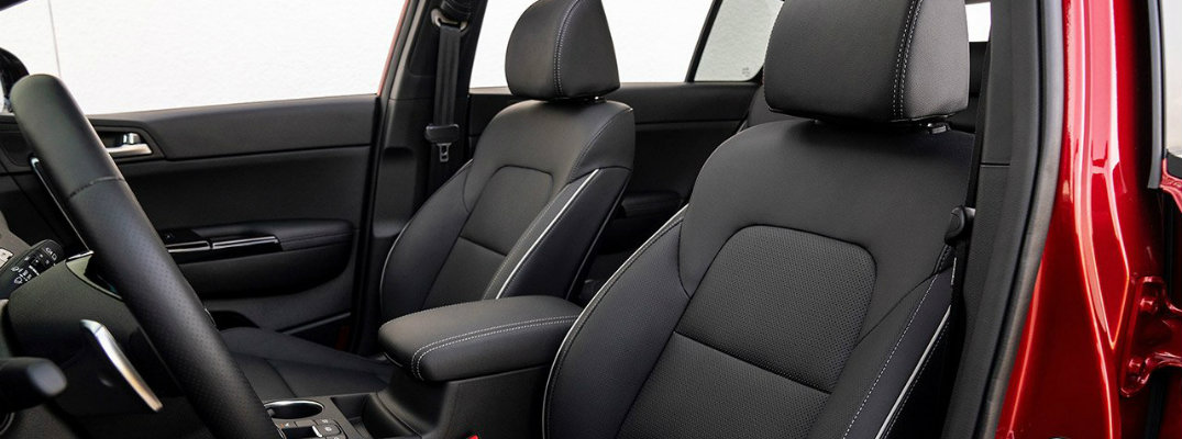 What are the Upholstery Options of the 2020 Kia Sportage?