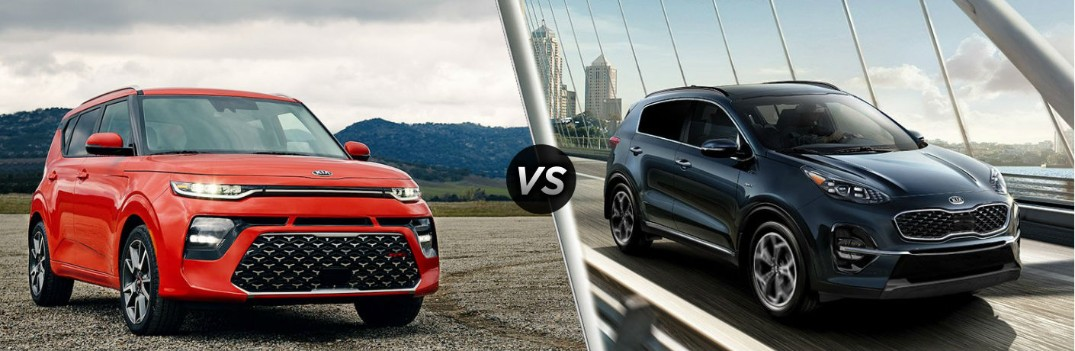 What are the Differences Between the 2020 Kia Soul and 2020 Kia Sportage?