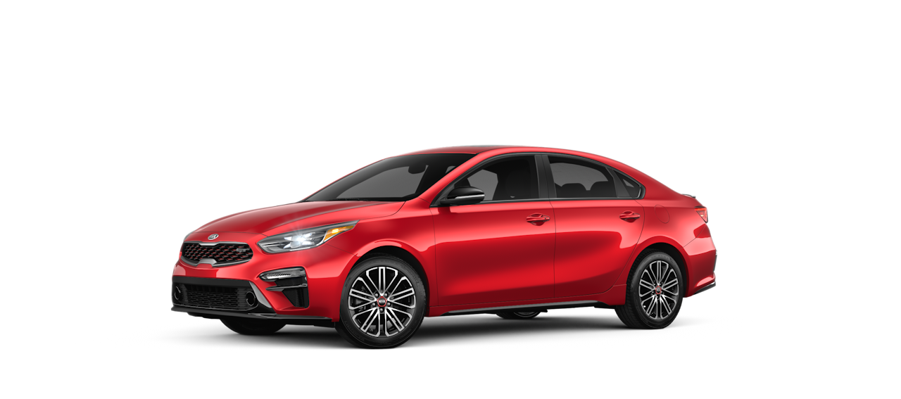 2020 Kia Forte Currant Red
