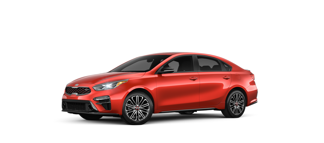 2020 Kia Forte Fire Orange