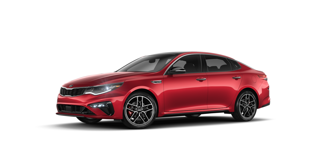 2020 Kia Optima Passion Red