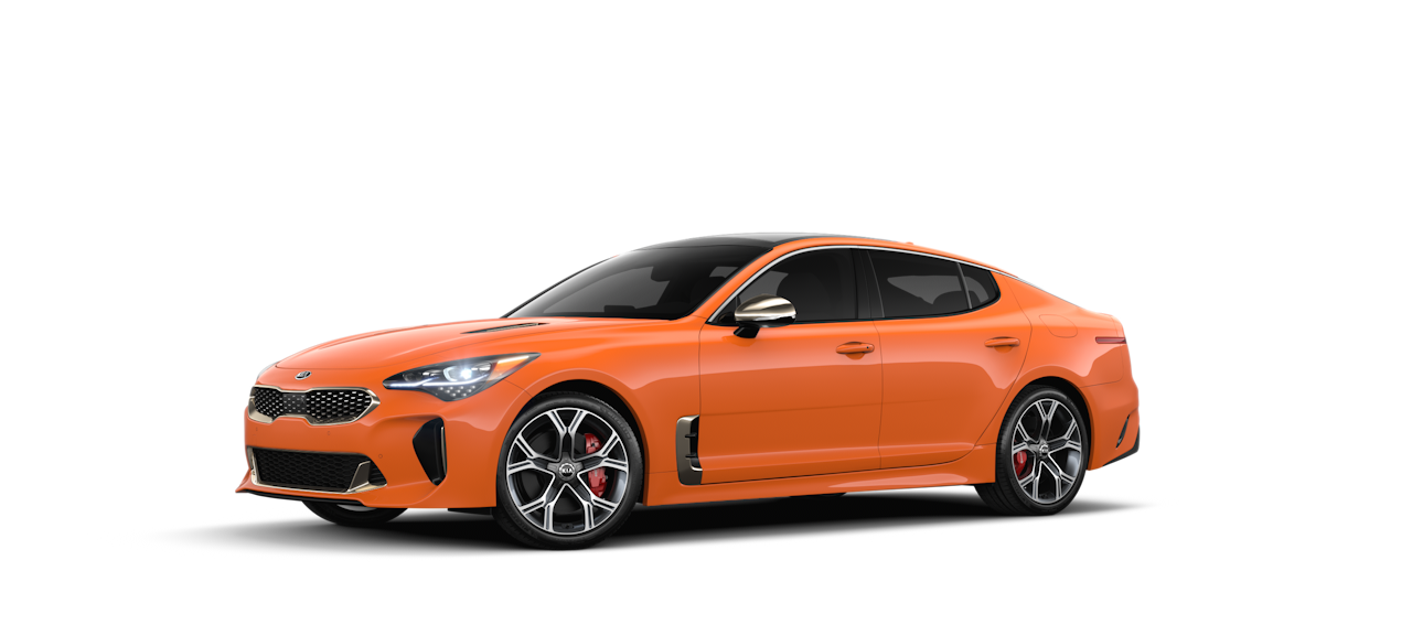 2020 Kia Stinger Federation Orange