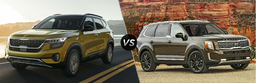 2021 Kia Seltos vs 2020 Kia Telluride comparison