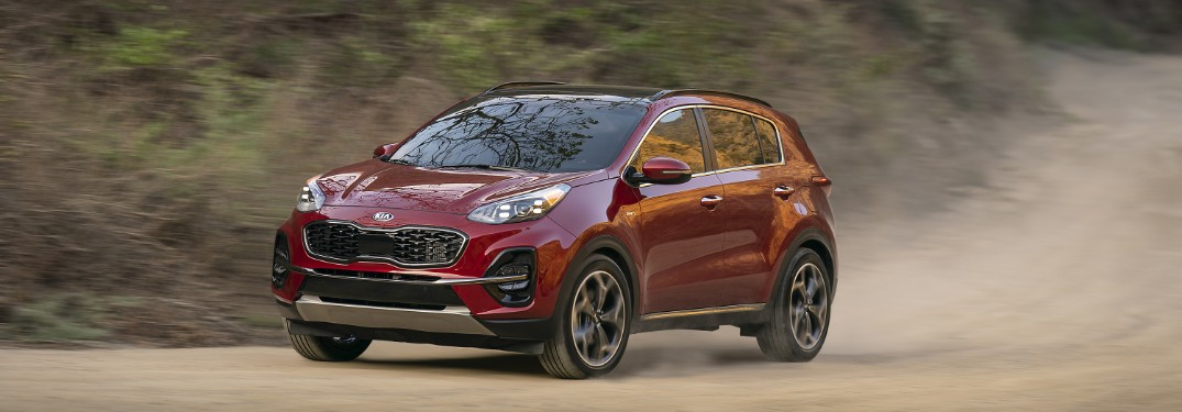 What's Included in the 2020 Kia Sportage EX Technology Package?