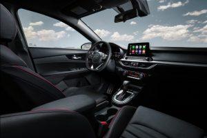 front interior of a 2020 Kia Forte GT